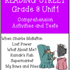 Reading Street Comprehension Unit 1 Grade 3