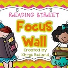 Reading Street Focus Wall - Kindergarten {Entire Year - Ov