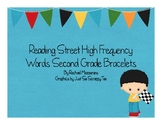 Reading Street High Frequency Word Bracelets for Second Grade