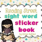 Reading Street Sight Word Sticker Book {EDITABLE} {All 40