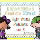 Reading Street Unit 5 Sight Word Readers