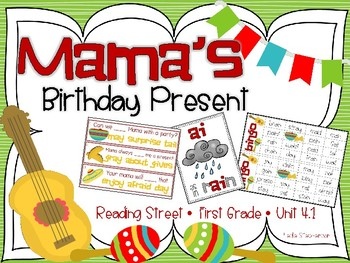 Reading Street's Mama's Birthday Present