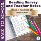 Reading Survey Grades 4-8