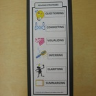 Reading Think-Aloud Bookmark