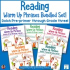 Reading Warm Up Phrases Combined Set