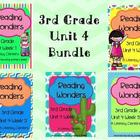 Reading Wonders, GRADE 3 CENTERS (Unit 4 BUNDLE!)