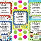 Reading Wonders Resources, Grade 2, Unit 3 Bundle