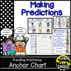 "Reading Workshop Anchor Chart - ""Making Predictions"""