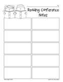 Reading & Writing Student Conferences  {Recording Sheets}