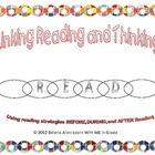 Reading is Thinking-Questioning Bookmark and Graphic Organizer