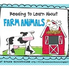Reading to Learn About Farm Animals