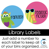 Ready 2 Number Library Labels