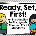 Ready, Set, First {introduction to first grade ELA & Math