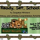 Ready Set School by Jacquelyn Mitchard Unit Literacy Back