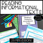 Informational Texts Grade 6:  Mini Lessons