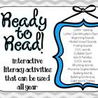Ready to Read! Interactive Literacy Activities for the Whole Year
