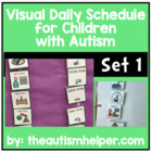 Ready to go Daily Picture Schedule - Great for Children wi