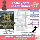 ReadyGen Lesson Plans Unit 2 Module B  - Word Wall Cards -