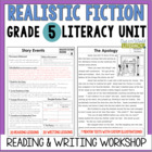 Realistic Fiction Reading & Writing Unit: Grade 5...40 Les