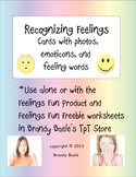 Recognizing Feelings Cards