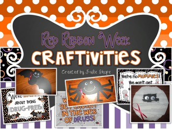 Red Ribbon Week Craftivities & Printables
