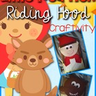Red Riding Hood and Wolf Craftivity