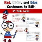 Red, Write, and Blue-Revising Sentences