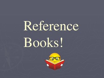 Reference Books Overview Power Point Powerpoint Presentation