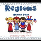 Regions ~ Social Studies Annual Plans for 3rd & 4th. Multigrade