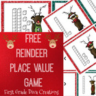 """""""Reindeer Games"""" A Card Game for Numbers in Base Ten"""