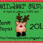 Reindeer Games ~A Mini Math & Literacy Unit~