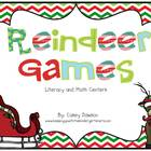Reindeer Games (Christmas Literacy and Math Centers)