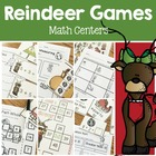 Reindeer Games- Math Center Fun- common core activities