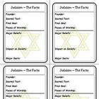 Religion Trading Cards: Judaism