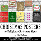 Religious Christmas Posters Bundle - Great Gifts or Writin