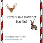 Remarkable Reindeer Non-fiction Mini-unit
