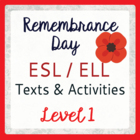 Remembrance Day in Canada (ESL 1)