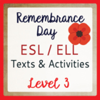 Remembrance Day in Canada (ESL 3)