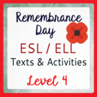 Remembrance Day in Canada (ESL 4)