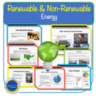 Renewable and Non-Renewable Energy - Lesson Grades 9 - 12