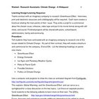 Research Assistants Wanted- A Webquest Promoting Higher Le