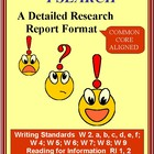 Research Report, I SEARCH Style - Student and Teacher Directions