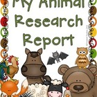 Research Report on Animals