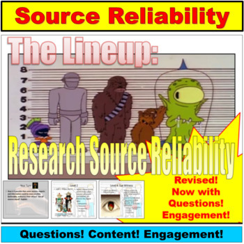 Research Sources : Primary and Secondary Sources