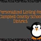Reserved Listing for Campbell County School District
