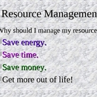 Resource Management PowerPoint