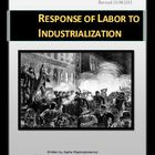 Response of Labor to Industrialization Lesson and PowerPoi