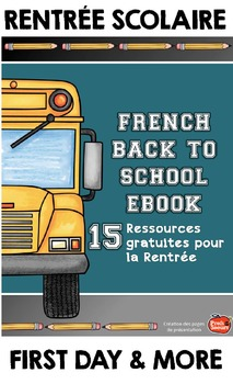 Ressources gratuites pour la rentree{French Tips & Freebies for Back to School}