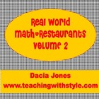 Restaurant Math Volume 2