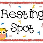 Resting Spot Freebie {Bird and Owl}